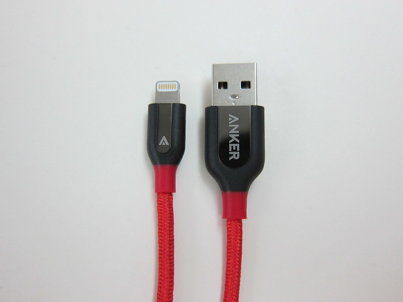 Anker PowerLine+ Lightning Cable - Red