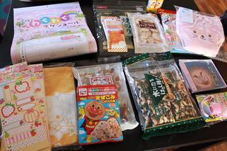 日本から真心パッケージ