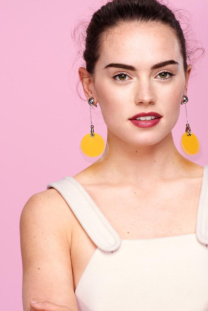 Дэйзи Ридли — Фотосессия для «Glamour» UK 2015 – 6