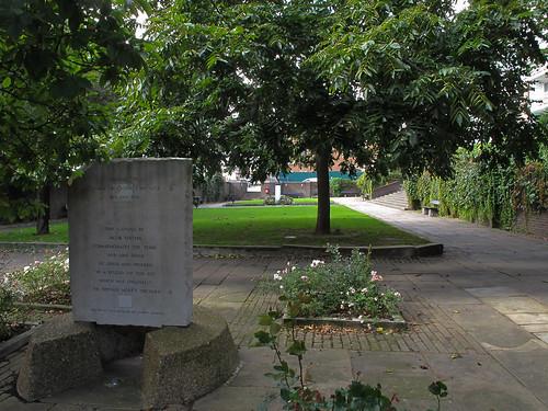Jacob Epstein's memorial