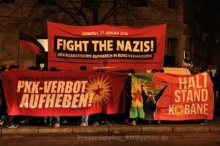 2016.01.15 Magdeburg - Antifaschistische Vorabenddemo (1)