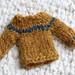 Tiny Sweater for #Christmasdecswap2015