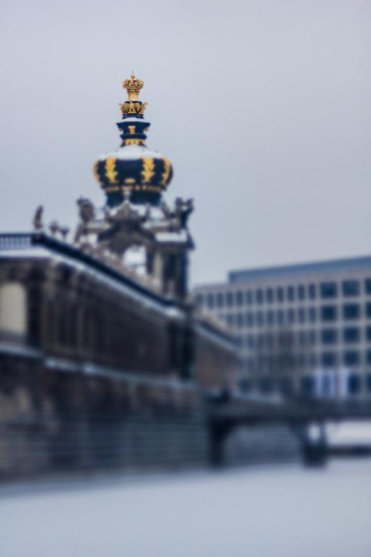 "Zwinger Dresden ""Kronentor"""