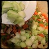 #homemade #ChickenSoup #CucinaDelloZio http://wp.me/P1K8PB-aX - broccoli stalks