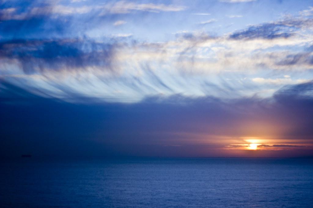 Folkestone Blue Haze Sunset
