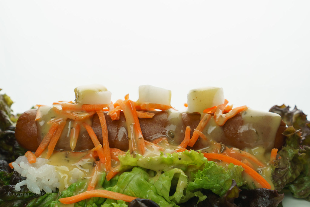 Gluten Free Asian Style Hot Dog