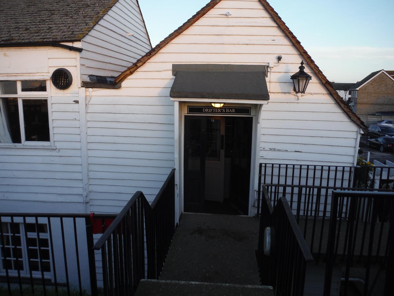 Entrance to the Drifter's Bar, Lobster Smack Inn, Canvey Island SWC Walk 258 Benfleet Circular (via Canvey Island)