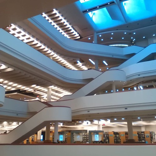 Curves of the Reference Library, 2 #toronto #library #torontoreferencelibrary #architecture