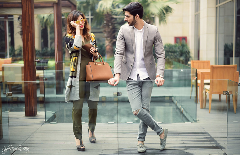 Srish Rohman Shawl jw marriott THE GRATEFUL THREAD Prince Of Wales Check Suit Jacket Vero Moda Koovs Michael Kors Zara Couple Office look newlook jumpsuit cardigan fall fashion lenskart vincent chase sunglasses reflectors