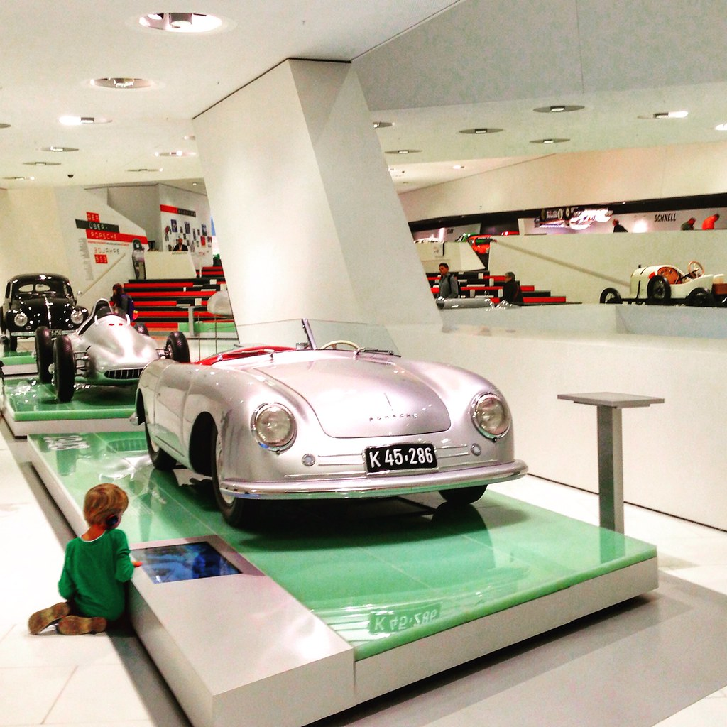 Fascination at the Porsche Museum