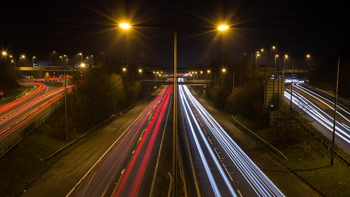 M60, Junction 18, Simister Island.