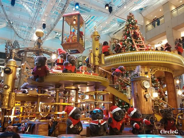 中環 置地廣場 central hongkong 熊 2015 CIRCLEG 聖誕裝飾 (1)
