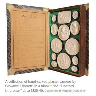 hand-carved plaster cameos by Giovanni Liberotti