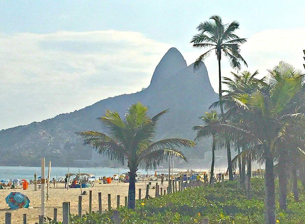 Rio beach view
