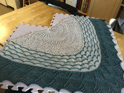 Moonshadows shawl