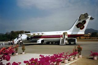"Thai Airways International British Aerospace BAe-146-300 HS-TBL ""Sukhirin"""