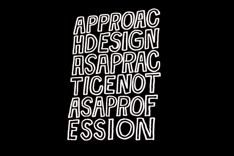 Approach design as a practice not as a profession by Timothy Goodman at Graphika Manila 2016 Photo by Sundae Scoops