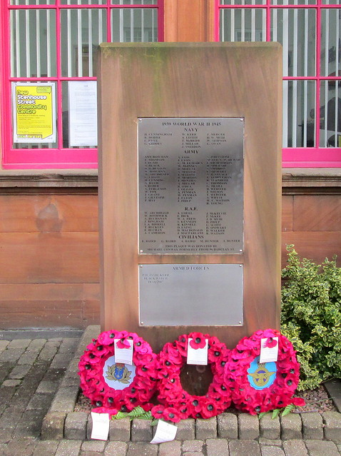 Cowdenbeath World War 2 Memorial