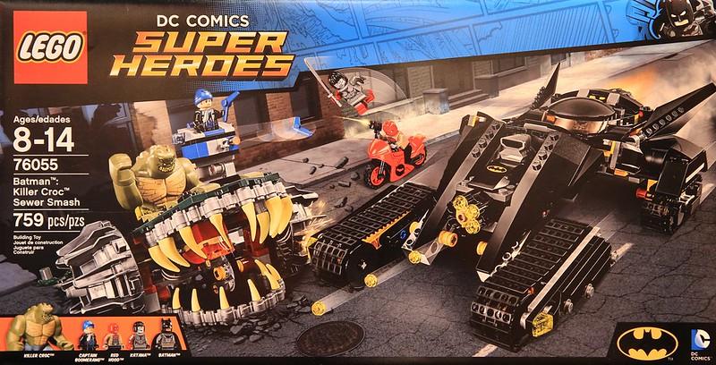 LEGO Super Heroes 2016: 76055 - Batman: Killer Croc Sewer Smash