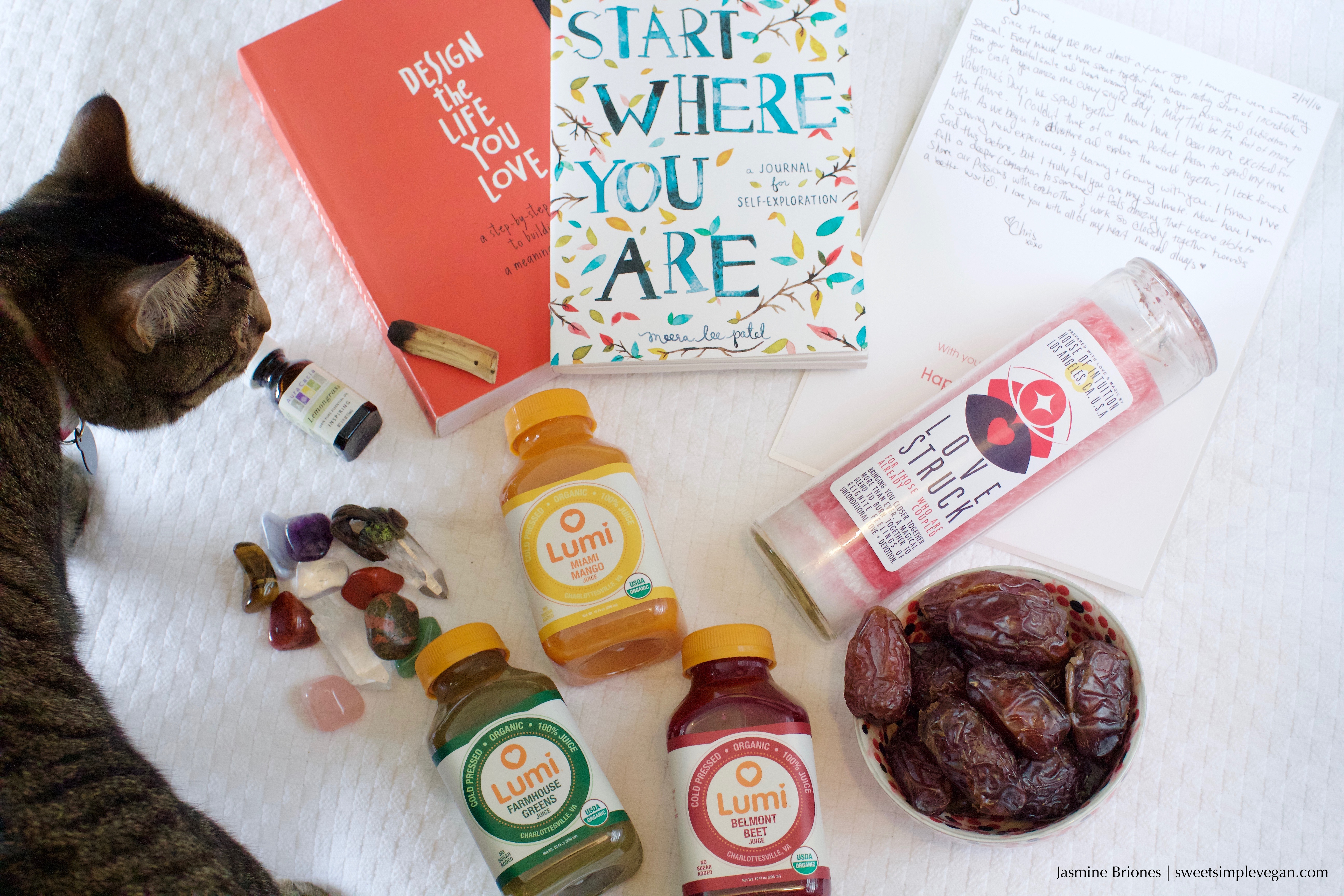 Items of Positivity + Monthly Favorites January & February 2016 sweetsimplevegan.com