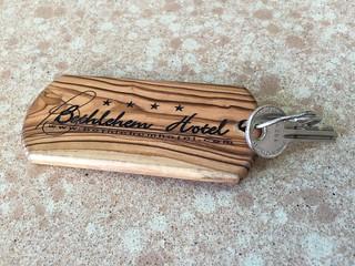 Bethlehem Hotel key, Palestine 2016