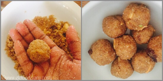 Poha Ladoo Recipe for Toddlers and Kids - step 6