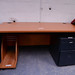 Ex demo cherry laminate desk