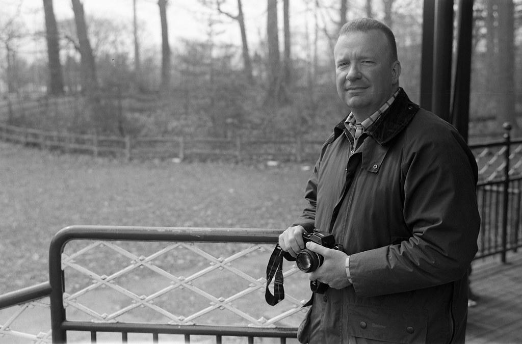 Portrait of fellow film shooter