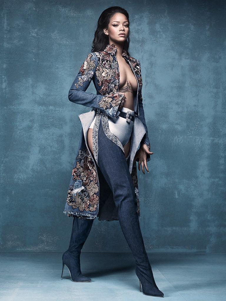 Рианна — Фотосессия для «Vogue» UK 2016 – 1