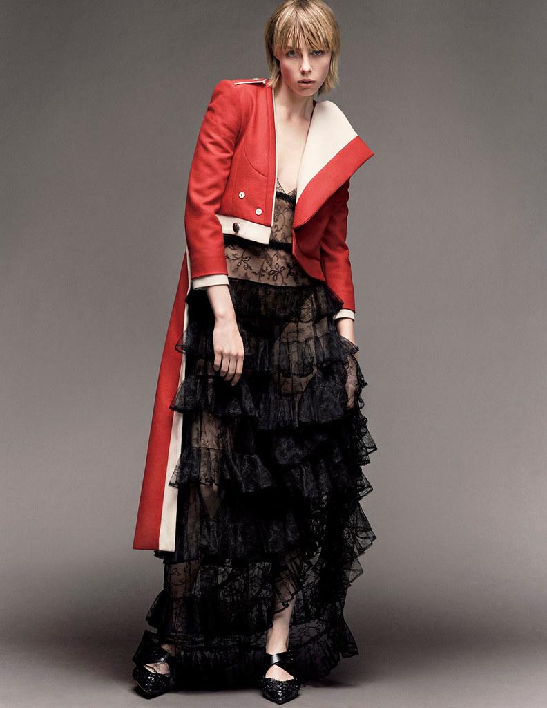 Эди Кэмпбелл — Фотосессия для «Vogue» JP 2016 – 12