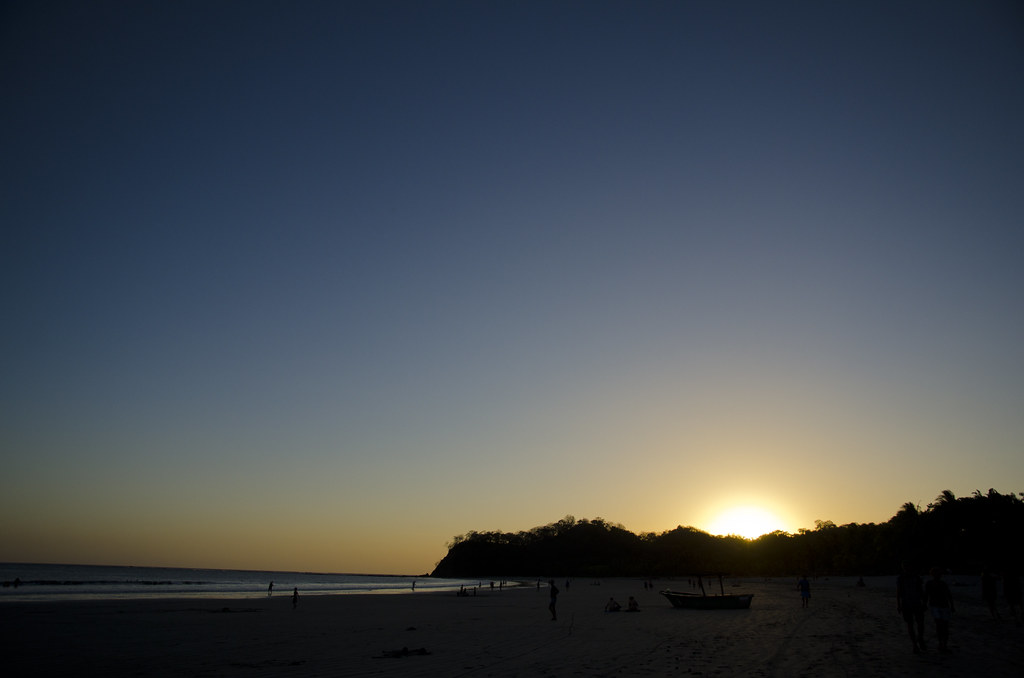 Sunset in Playa Samara