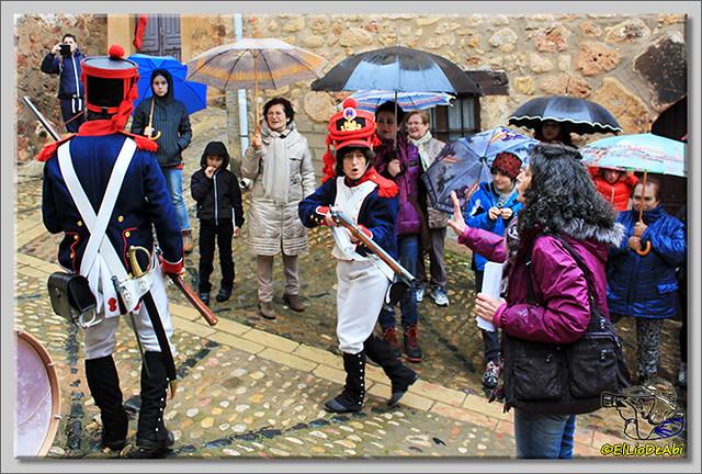 La Batalla por la Sal, visitas teatralizadas en Poza de la Sal (5)