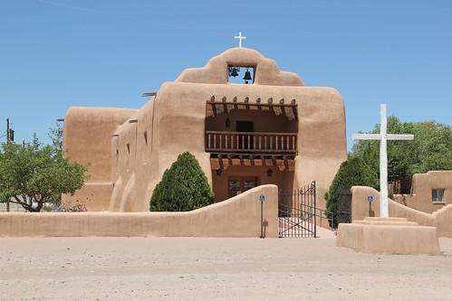 Santo Tomas El Apostol Roman Catholic Church, Abiquiu, NM