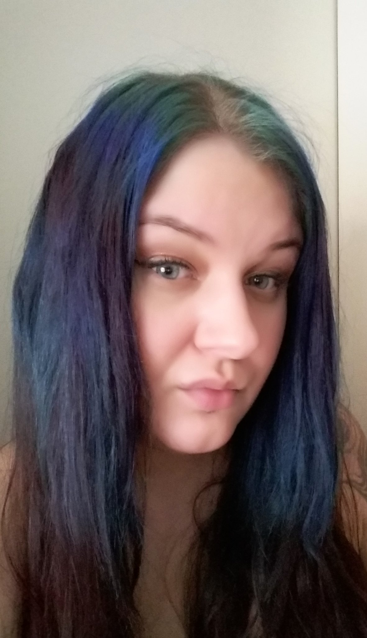 Blue hair don´t care