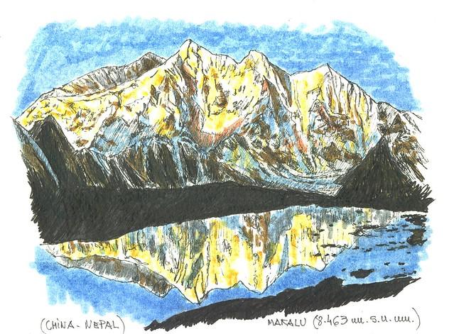 Makalu (8.463 m.s.n.m.)