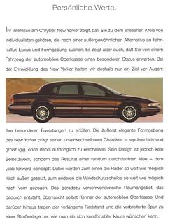 1995 Chrysler New Yorker export version