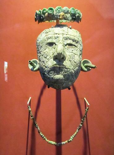 Le musée de Palenque: masque