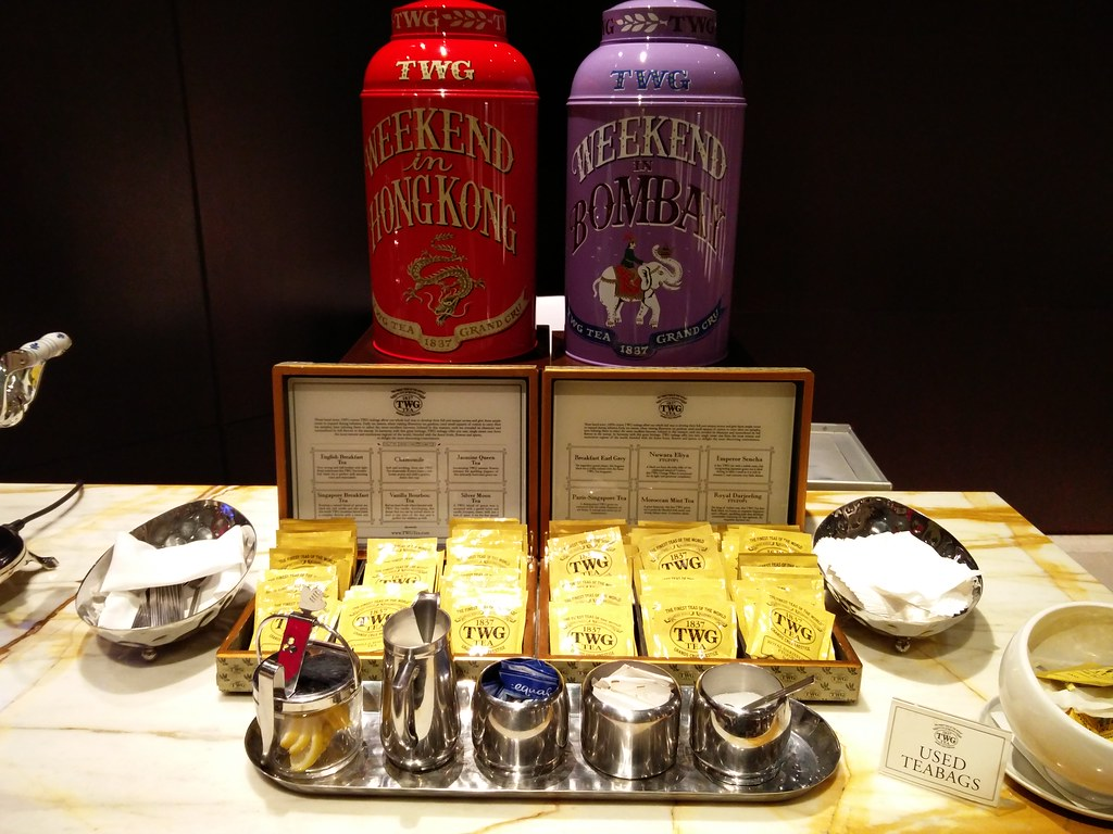 Selection of TWG tea