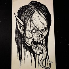 Some undead elven ghastly shit.