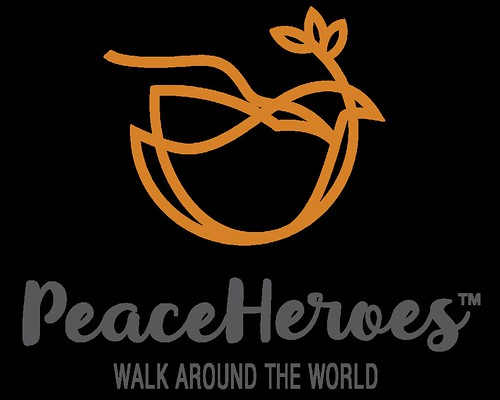 peace heros walk logo
