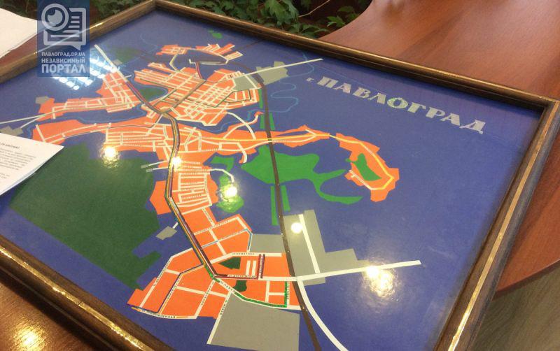 карта павлограда