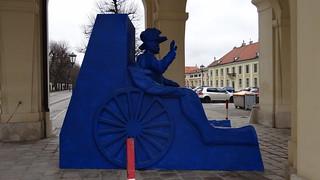 Üppige barocke Kunst in Wien dazu zeitgenössische Kunst der kreativen österreichische und internationale Kunstszene 01772