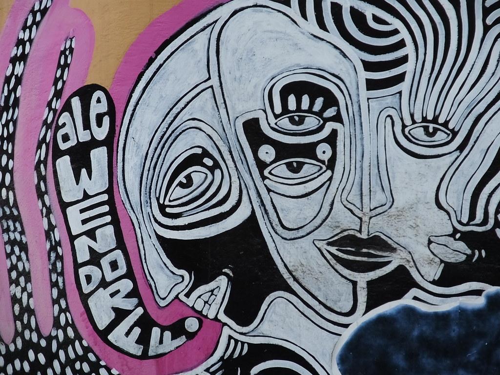 Street art, Lima, Peru
