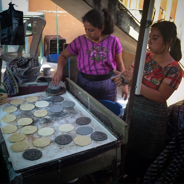 They taught me how to make tortillas