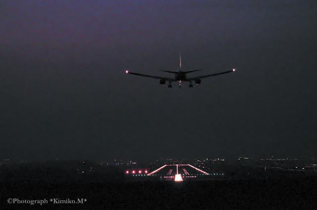 旭川空港18:55着 AIRDO