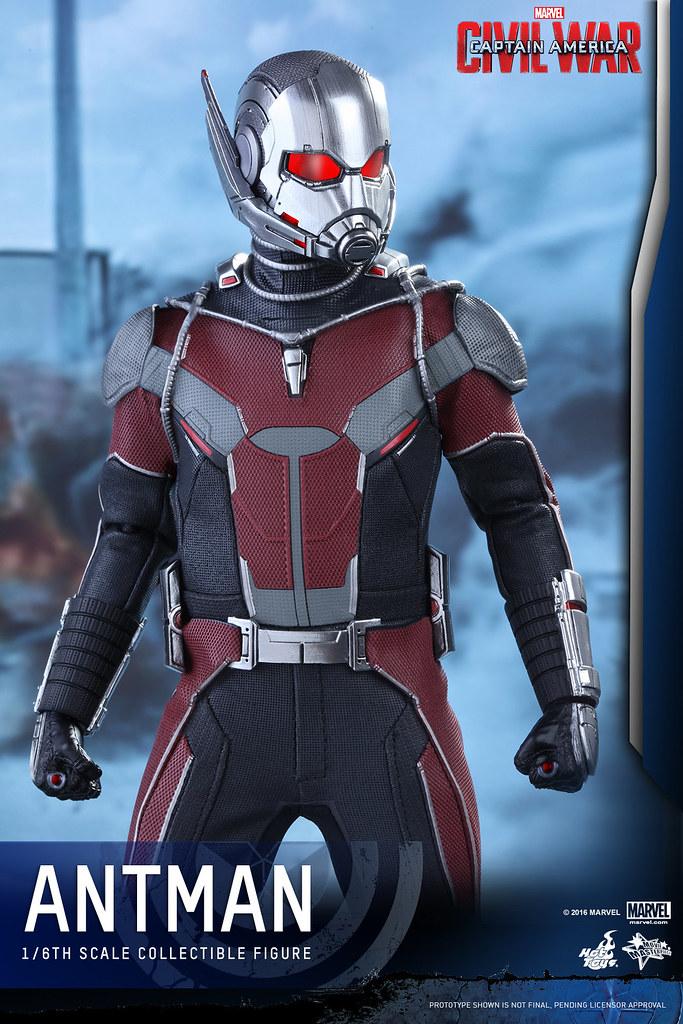 Hot Toys – MMS362 – 美國隊長3:英雄內戰【蟻人】Ant-Man 1/6 比例人偶作品