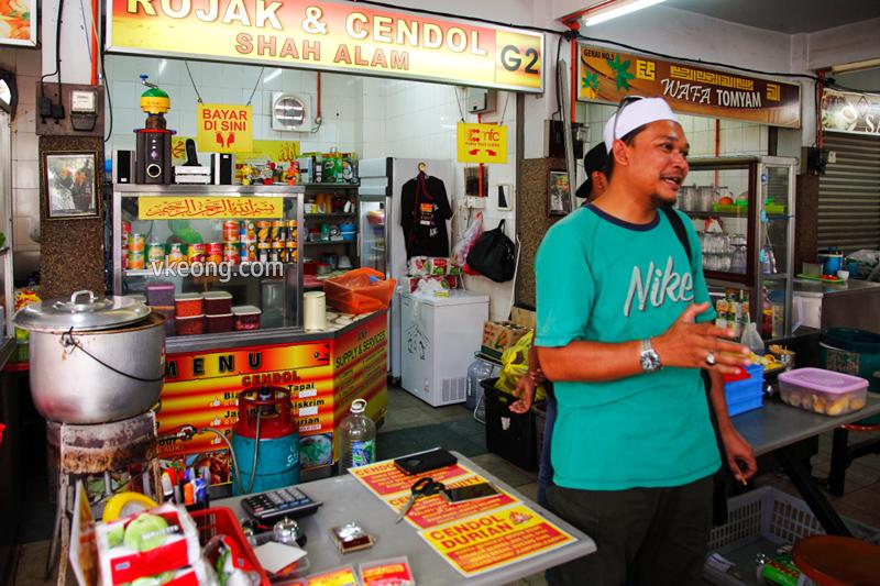 Rojak&Cendol Shah Alam货摊