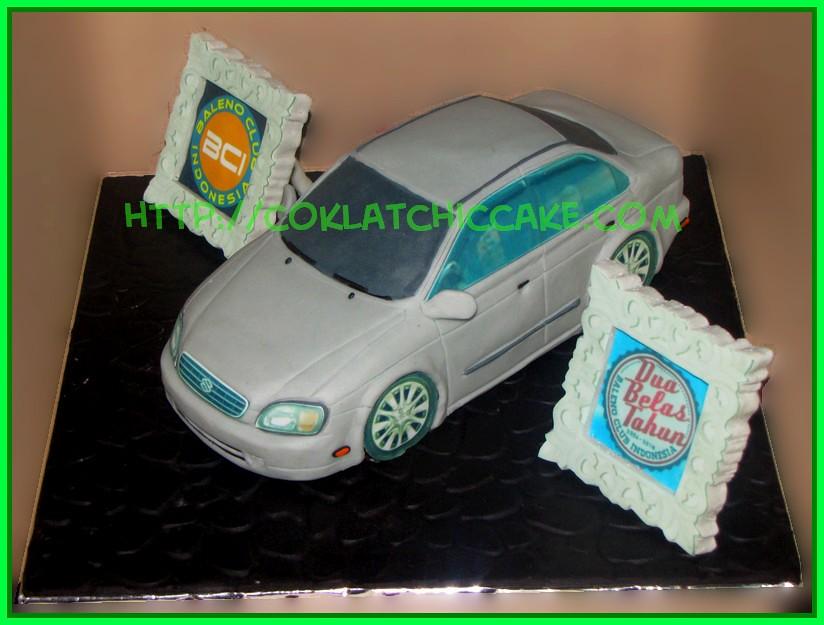 Cake mobil baleno