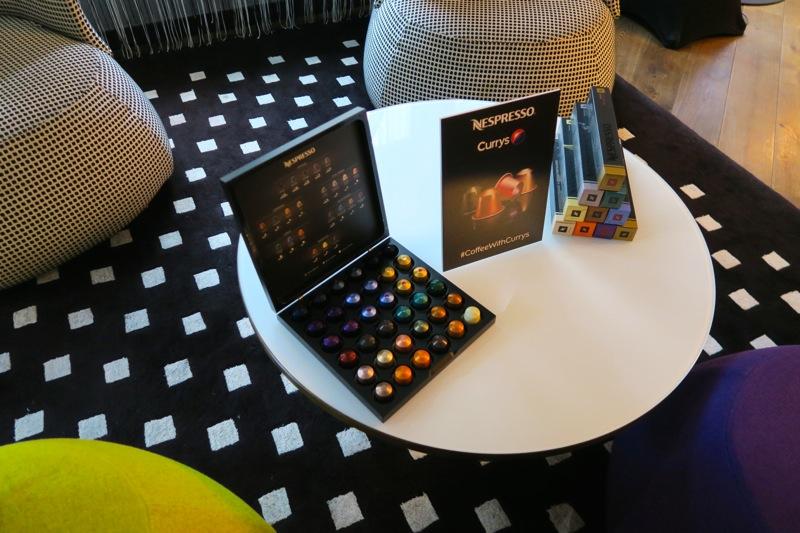 nespresso blogger event g&v hotel