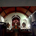 Inside of the Capuchin's church, Cartago